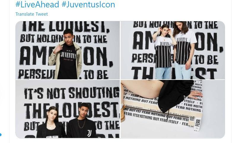 Juve, in vendita la nuova collezione Icon!