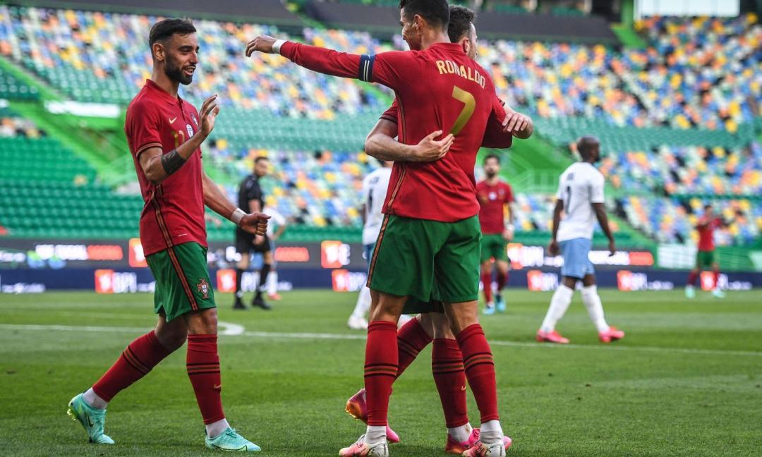 Ronaldo e Portogallo 'pronti' per gli Europei! FOTO