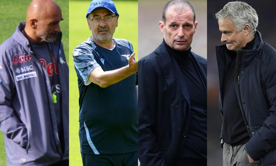 'Juve, per lo scudetto Allegri avrà un impatto migliore di Mourinho, Sarri e Spalletti'