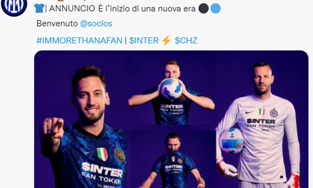 UFFICIALE: nuovo sponsor per la maglia dell'Inter. Arriva dalla Juve