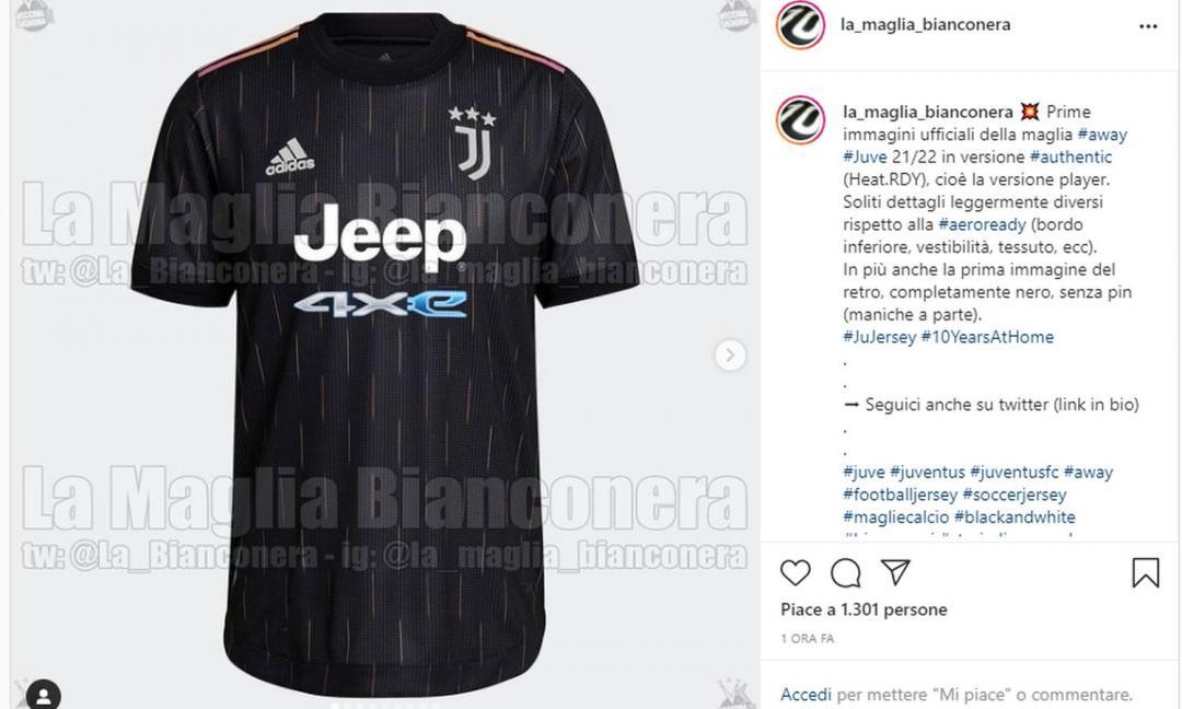 UFFICIALE: ecco la seconda maglia della Juve! Dybala testimonial, le FOTO