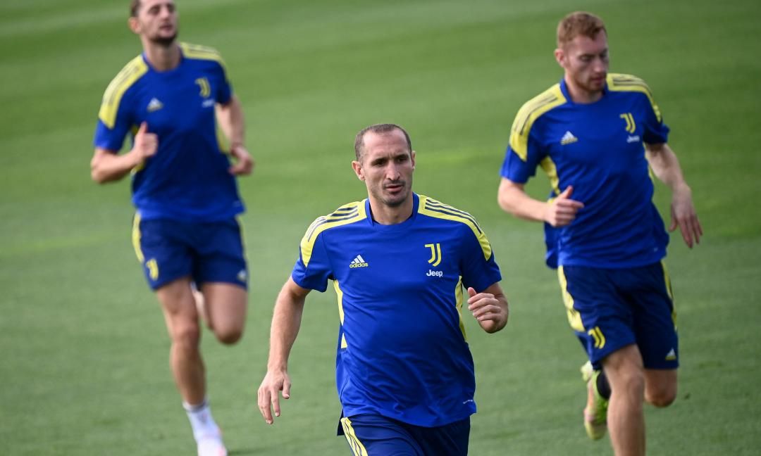 Juve, Chiellini corre verso il Milan