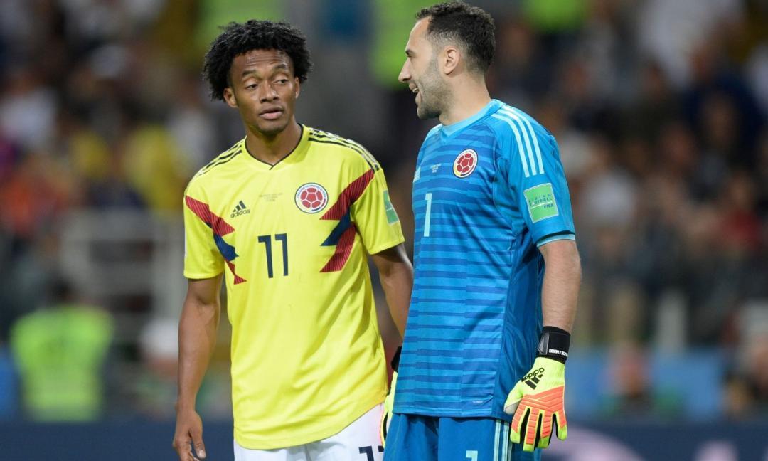 Colombia, Cuadrado in campo contro l'Ecuador
