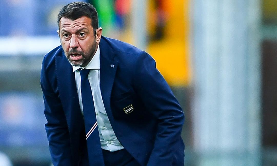 Sampdoria, D'Aversa: 'Atteggiamento giusto, ma ci siamo segnati da soli'