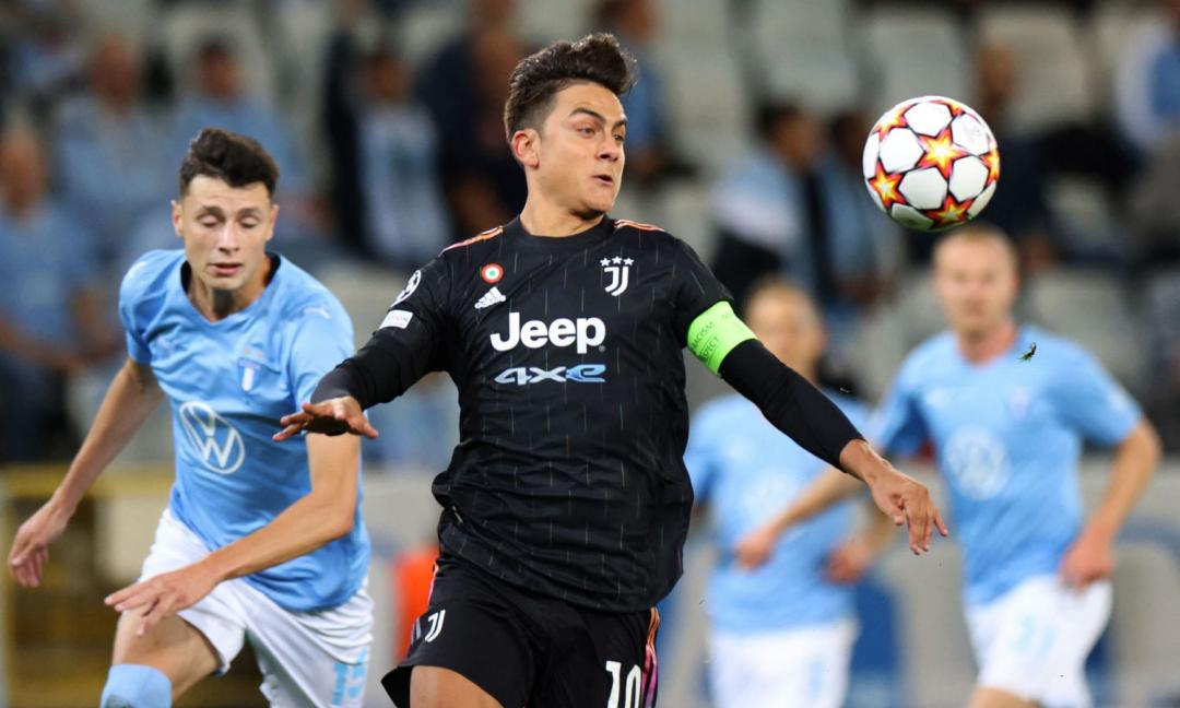 Malmö-Juve, i sudamericani fanno la differenza: è la seconda volta in Champions League