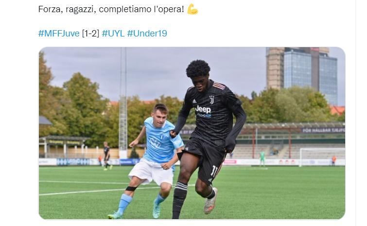 Youth League, Malmö-Juve: il tabellino