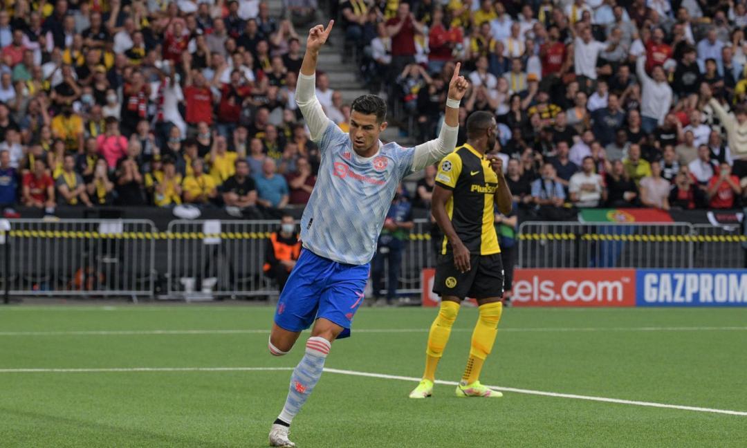 Ahi, Ronaldo: lo United stecca la prima in Champions. Nonostante il suo gol