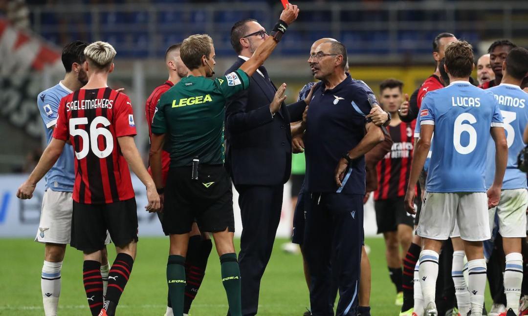 Giudice Sportivo, UFFICIALE: Sarri squalificato, 'intimidatorio e blasfemo'