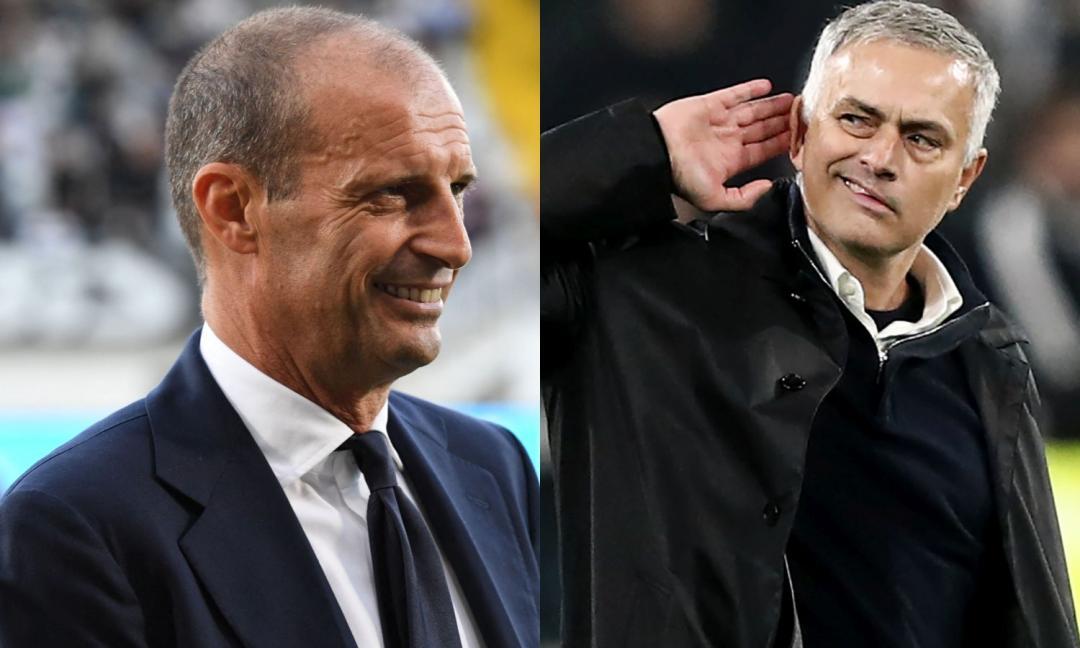 Juve-Roma, la sfida in cifre: la difesa di Allegri contro l'attacco di Mourinho