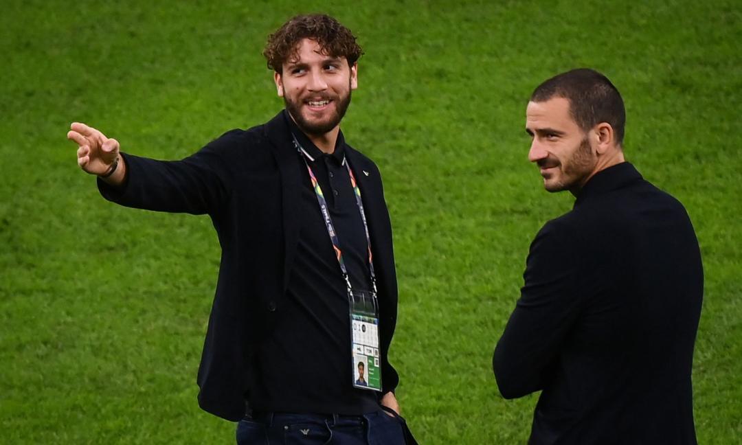 Bonucci e Locatelli nello spot con Mancini: 'Zuppa inglese!' VIDEO